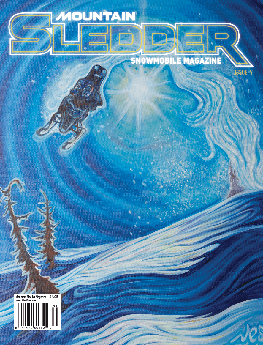 Mountain Sledder Issue 5 Cover