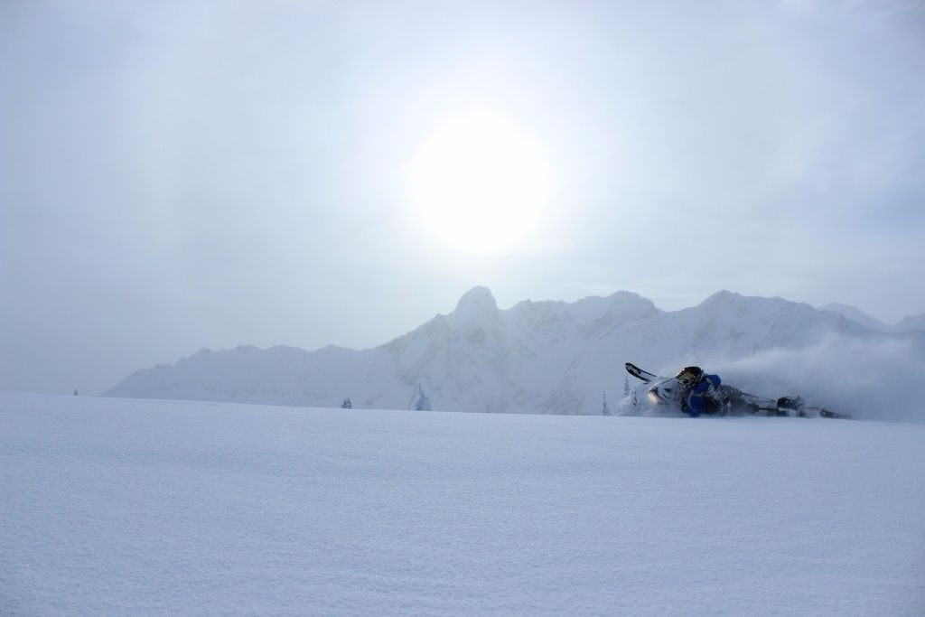 Great sledding conditions in Golden this week. Photo: Colin Wallace