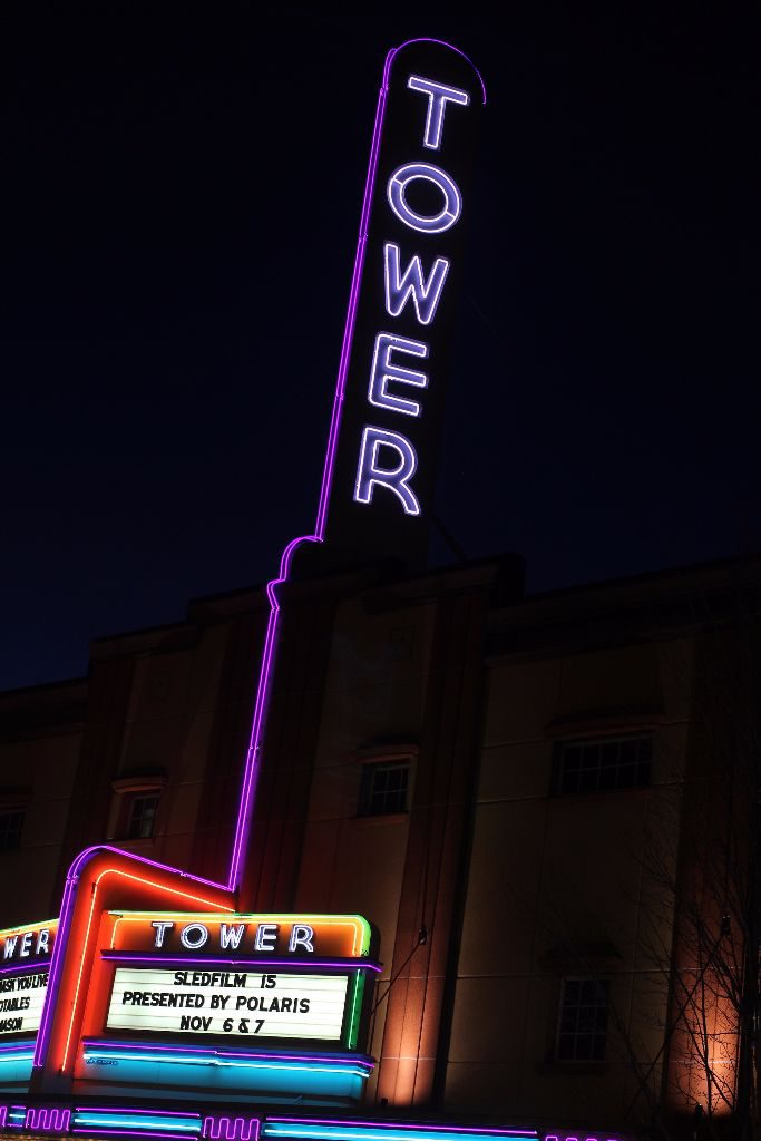 The Tower Theater had a full house both nights.