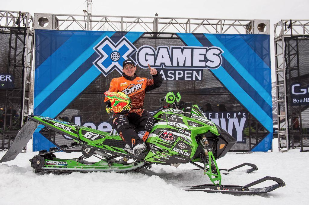 Canadian Ryan Simons wins X-Games GOLD