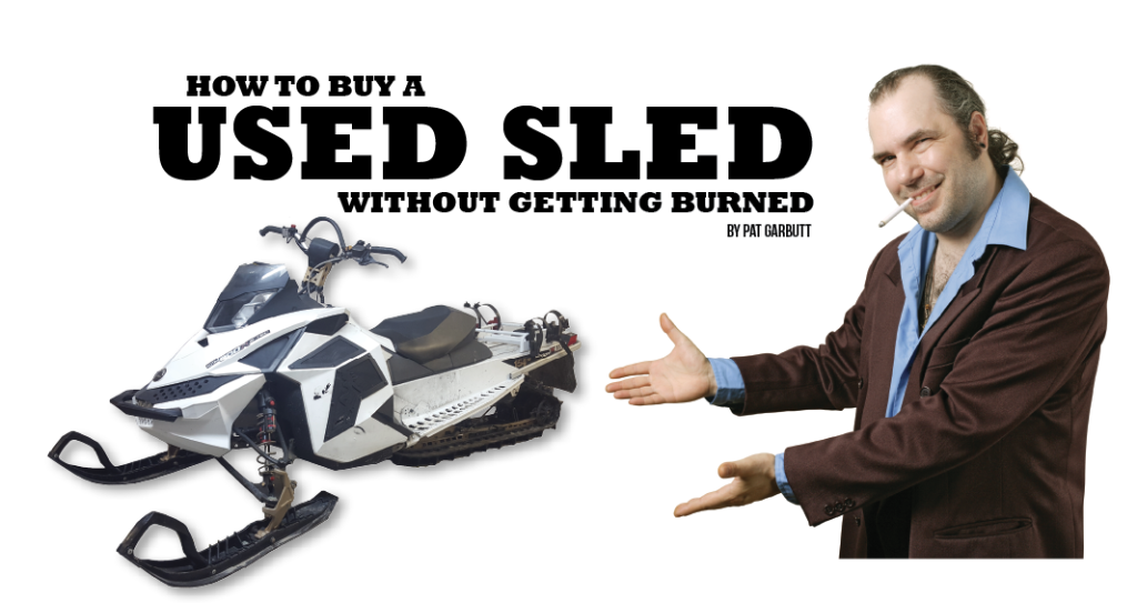 Buying a Used Sled — Do's and Don'ts