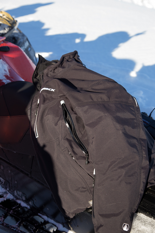 All zips are waterproof and welded to the fabric. Vent zips are backed by a highly breathable mesh.