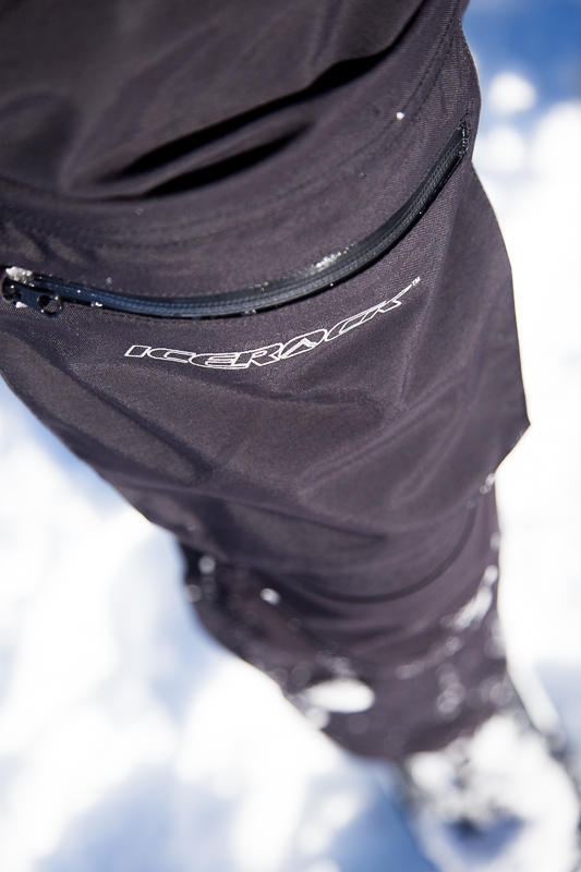 Bellowed thigh pockets are the cat's ass;  great for holding a cell phone, camera, GPS, etc.