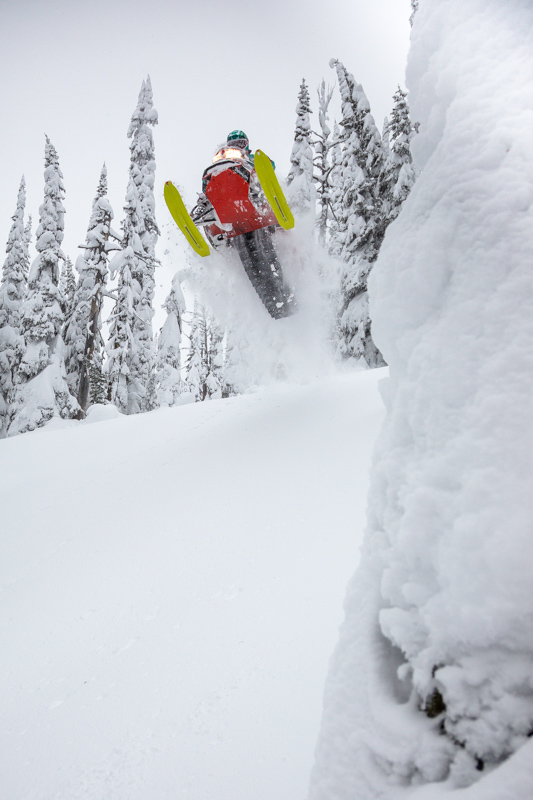 There are a ton a features for boosting air at Little Sand Creek as Brandon Wiesener finds out.