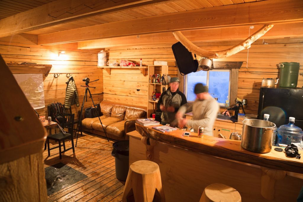 Propane is the name of the game at Grizzly Basin Outfitters, with all the luxuries of heat, fridge, oven, stove, BBQ and lights all powered by it.