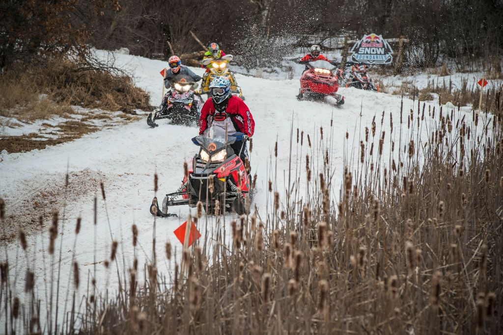 The Ditchbanger class offered a chance for Regular Joe sledders to race their own machines in a big-time event.