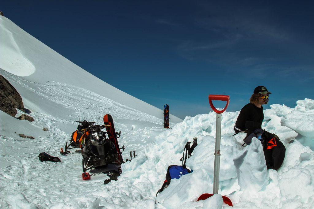 Glacier Camping via Steel Powder Ponies