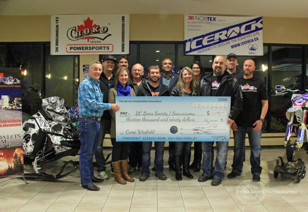 Over $13,000 was raised for Easter Seals kids camps last year.