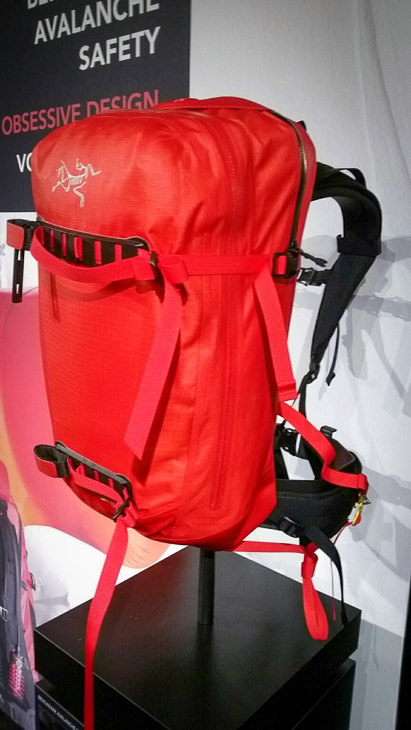 Arc' Teryx bags are pricey and catered to the ski market, but they are the only airbag that is designed to be waterproof.
