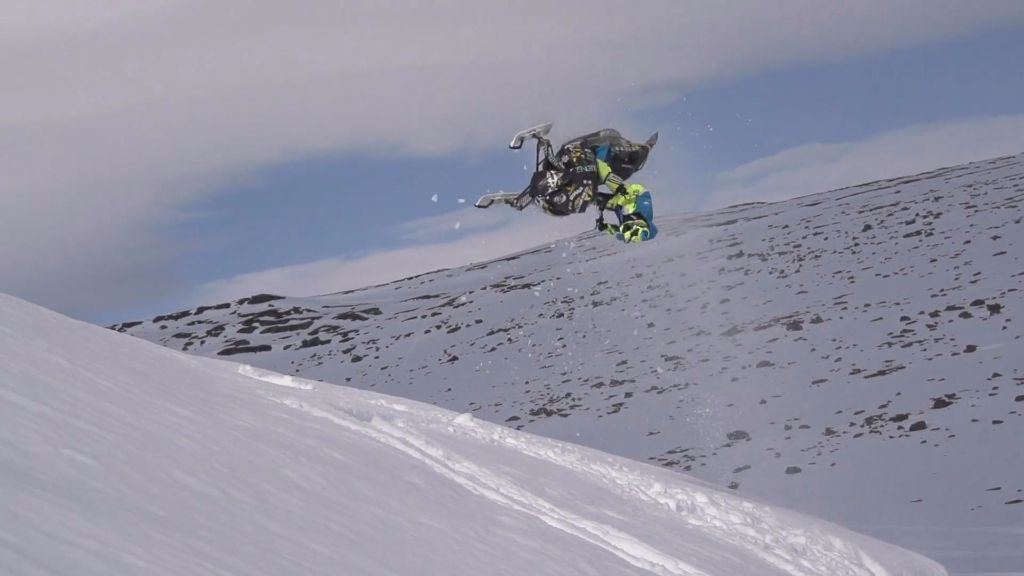 The Slednez fellas love getting inverted in the backcountry.