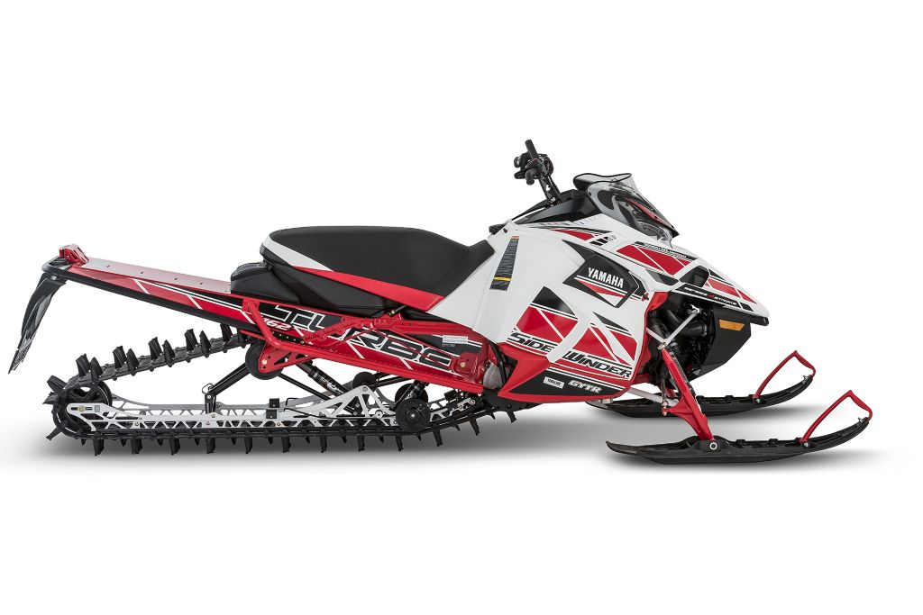 Yamaha 2018 snowmobiles unveiled mountain sledder for Yamaha snow mobiles