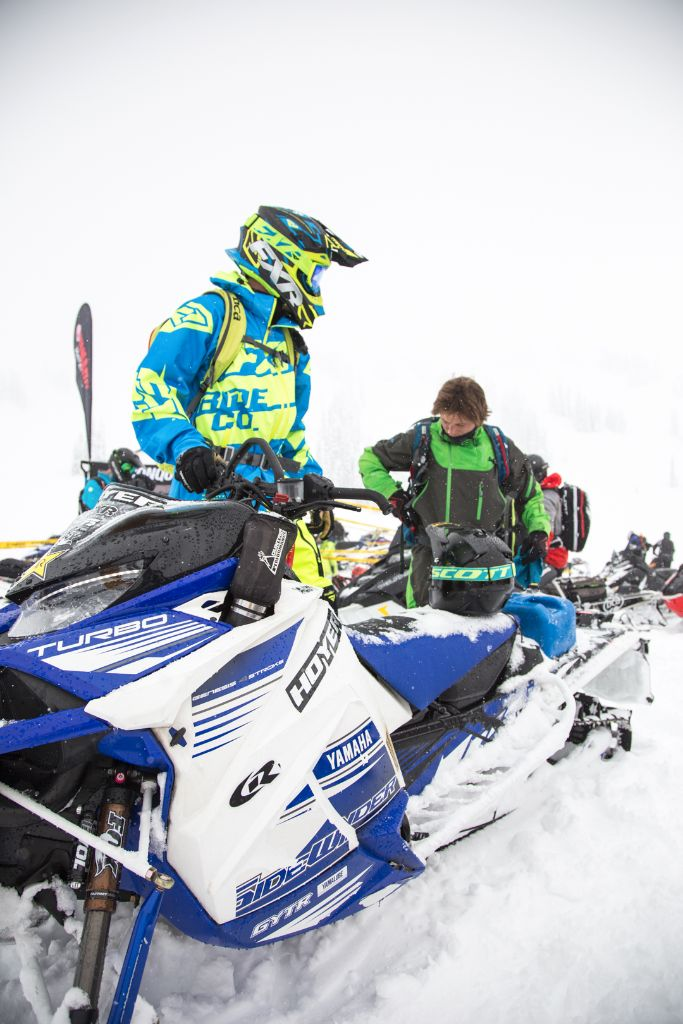 Everyone knows that Brock Hoyer is the king when it comes to snowbikes. But he can kick some ass on two skis as well.