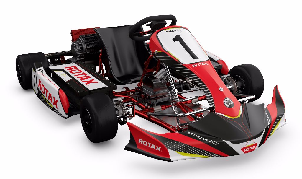 Rotax Electric Powerpack Kart Image HQ - C1 small