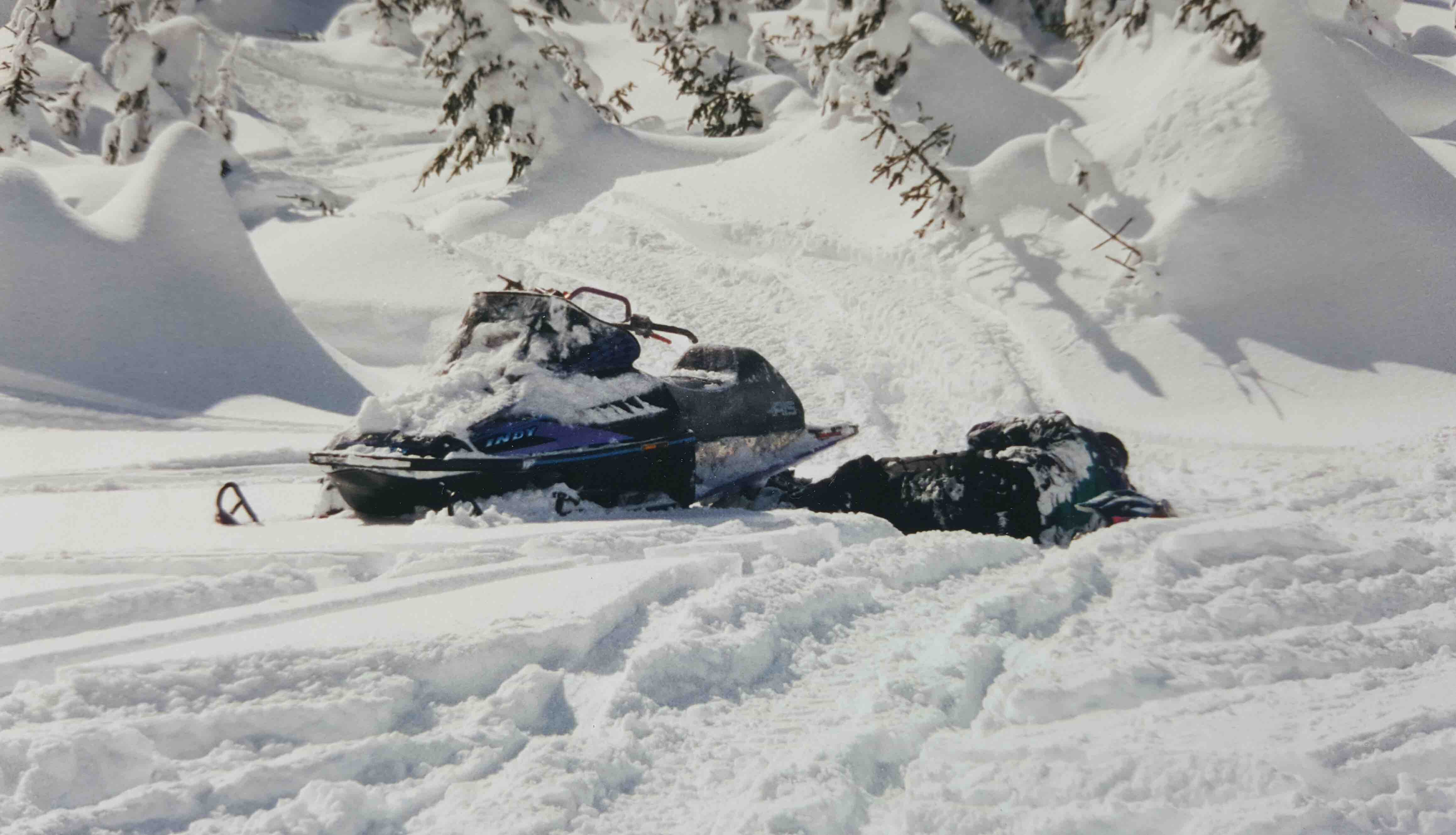 Backcountry Freestyle Snowmobiling