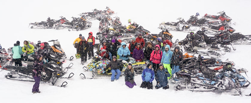 La Nina Sled Camps Charity Ride
