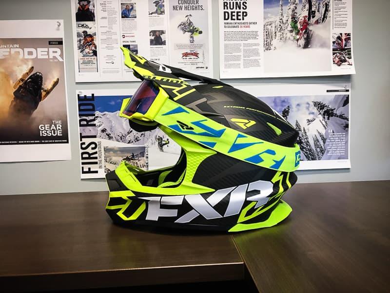 FXR Blade 2.0 Carbon Vertical Helmet