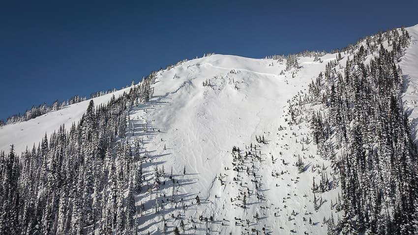 Avalanche Start Zone