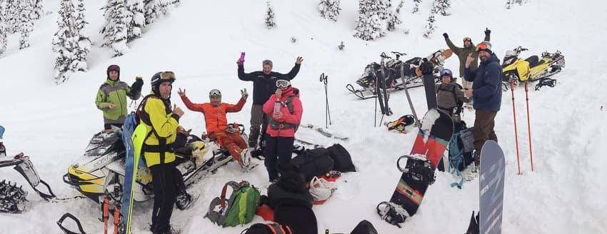 Sled Ski Snowboard