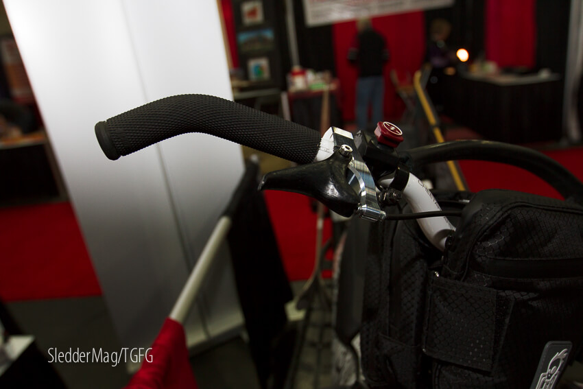 Here's a finger throttle from Munster that caught our eye.