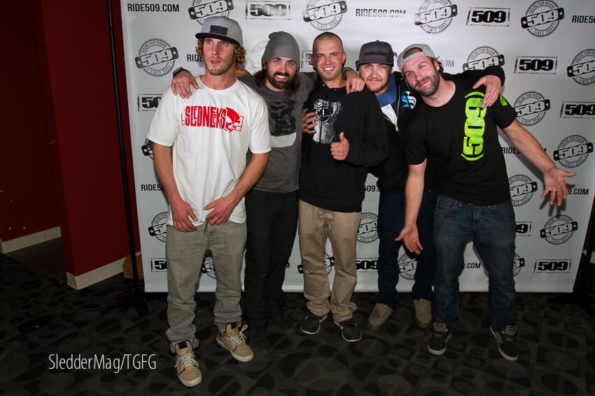 A vet crew of young bosses: Derek Wood, Brett Turcotte, Cody Robinson, Jamie Iwaschuk, Nick Woods.