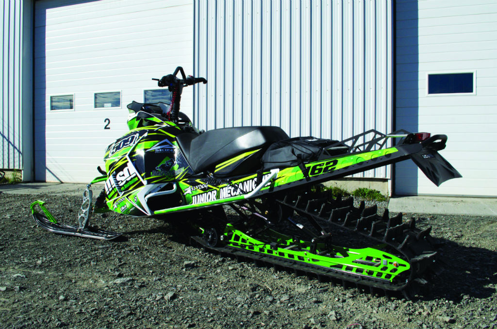 2015 Arctic Cat M800 Mod For Low Elevation Tree Riding
