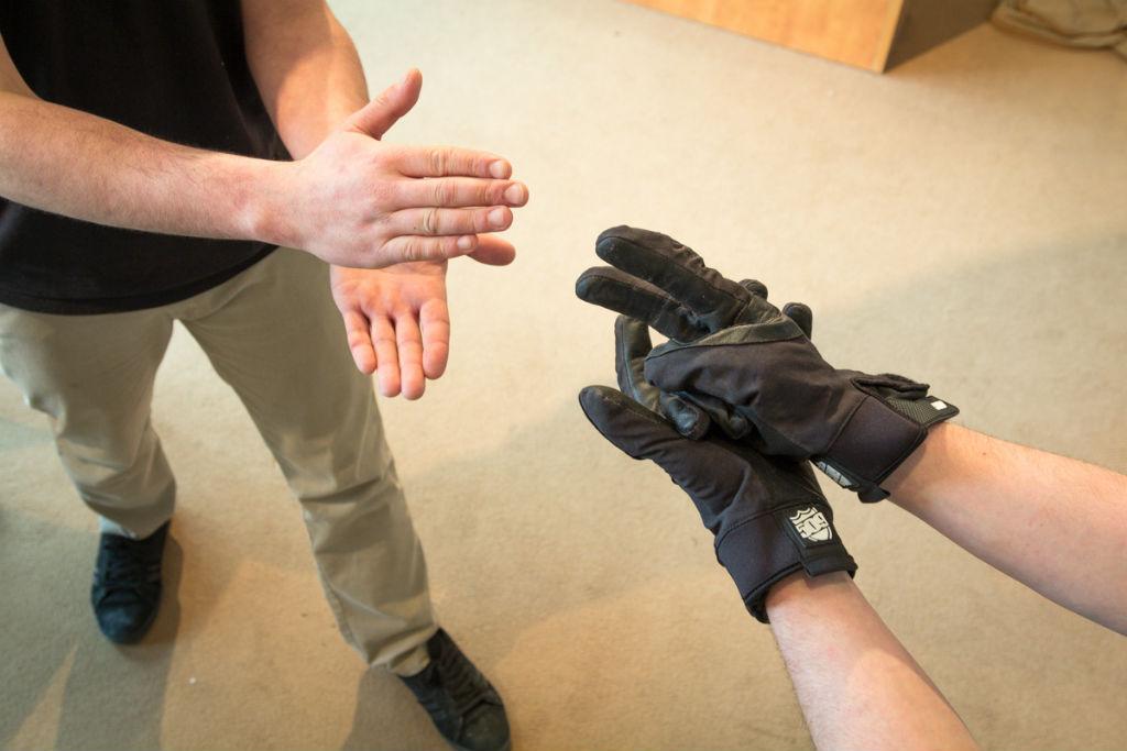509 Freeride Glove Test