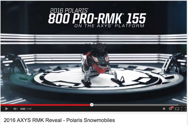 2016 AXYS RMK Reveal – Polaris Snowmobiles