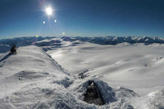 Big Terrain, Big Decisions: Sledding on the Pemberton Ice Cap
