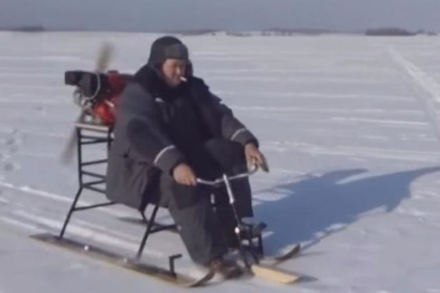 Russian Snowmobile Inventions