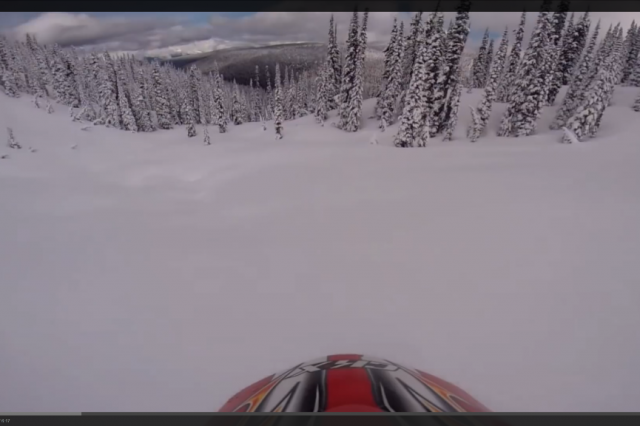 Avalanche Burial Video at Blue Lake, BC