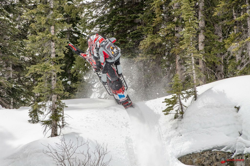 """Change enough """"wetties"""" beforehand, and you too will be spared time to pull """"wheelies"""" like this! Photo Steven Marlenee."""