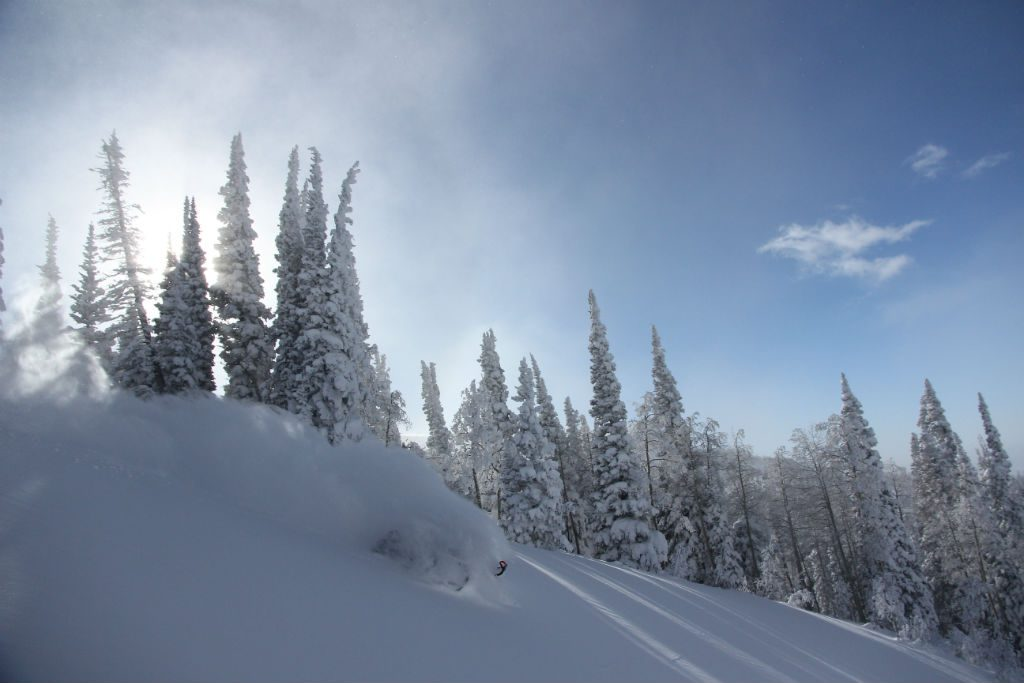 Snowmobiling. The most fun you can have with your pants on. Photo Nick Reedy.