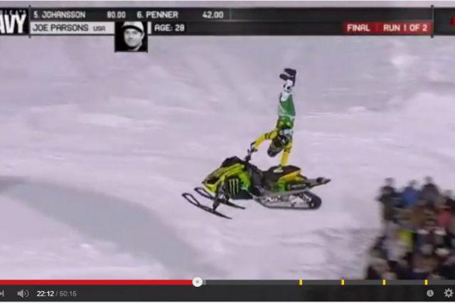X Games Snowmobile Freestyle Recap