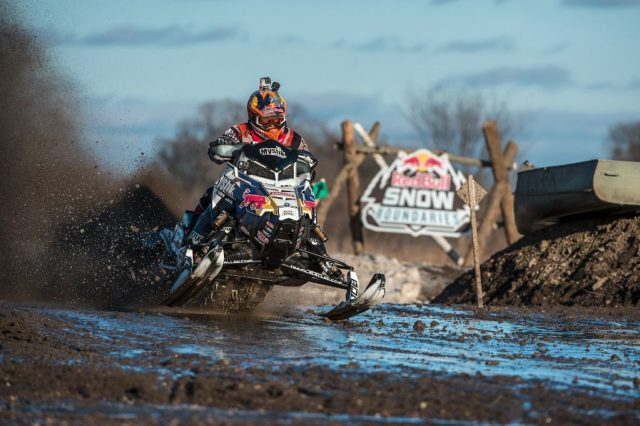 Levi Lavallee Wins First Ever Red Bull Snow Boundaries Race