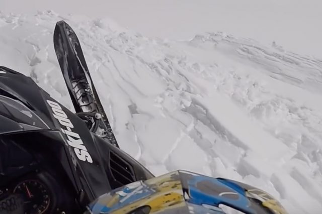 I Survived a Big Avalanche While Snowmobiling Video – What Happened?