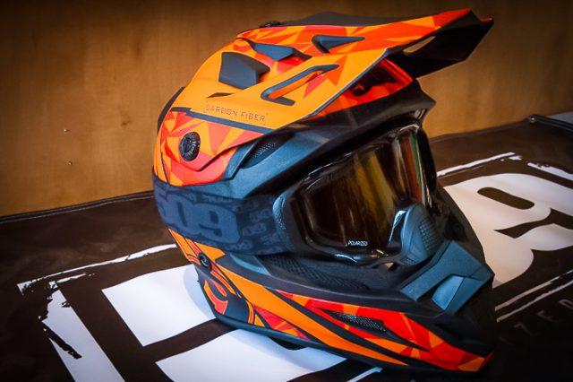 Gear Review: 509 Carbon Fiber Altitude helmet with Fidlock