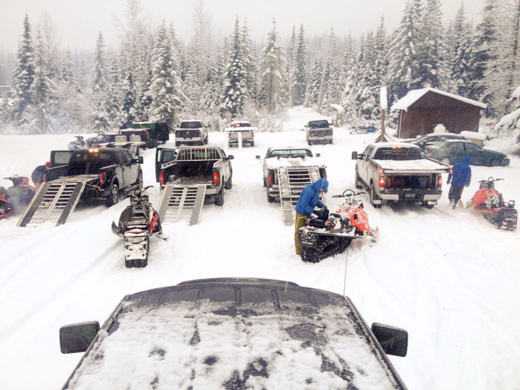 Both parking lots at Quartz were busy on Saturday.