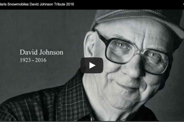 Polaris Snowmobiles Co-Founder David Johnson Tribute