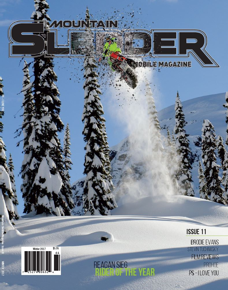 Mountain Sledder Rider of the Year Reagan Sieg is one of Timbersled's offical race team members.