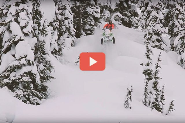 Video – Mountain Sledder On The Road: Revelstoke, BC