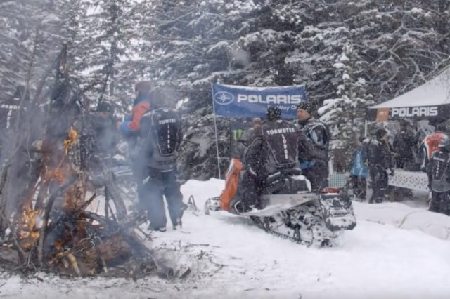 Warrior Ride – Injured Veterans Snowmobile Ride Event