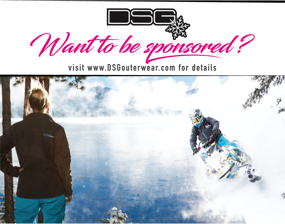 DSG Outerwear Female Sponsorship