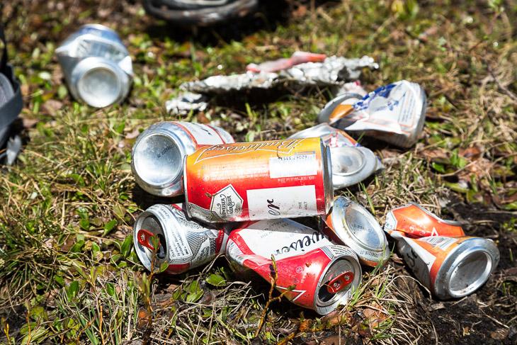 Budweiser Trash Silent Pass