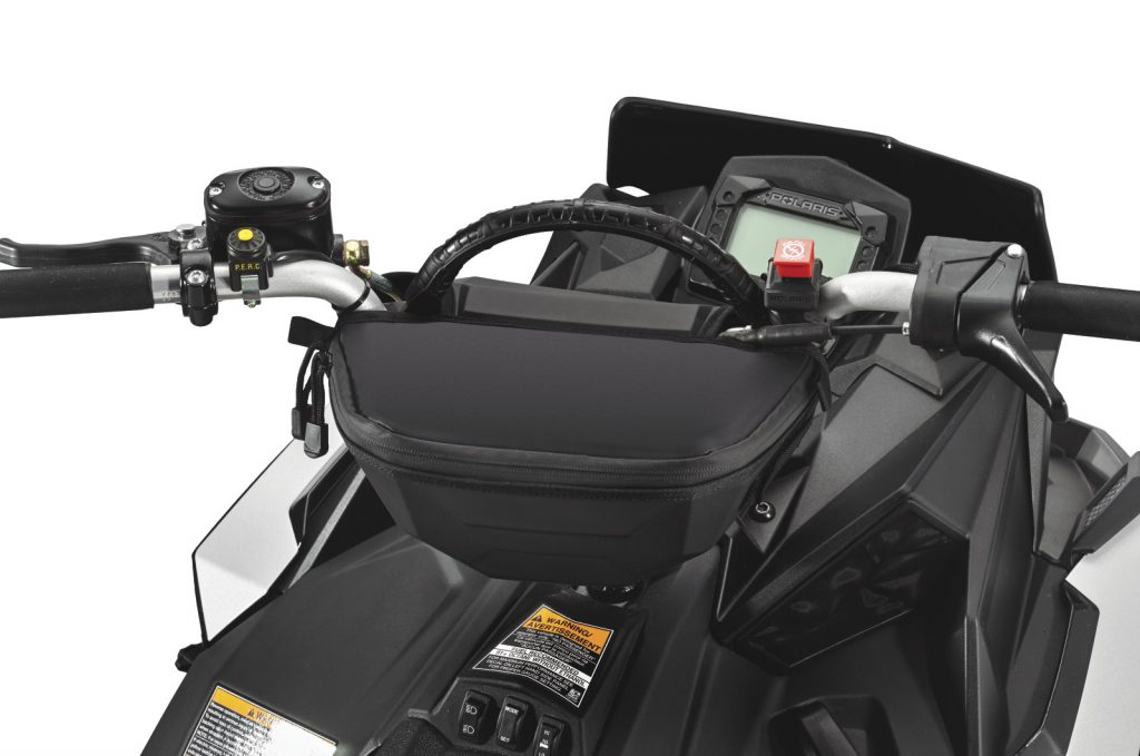 Polaris Snowmobile Storage Option
