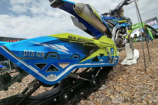Camso DTS Snow Bike Kit to Be Sold as Yamaha Dirt Bike Accessory