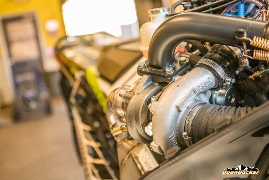 BoonDocker Releases Sidekick Pump Gas Ski-Doo 850 Turbo Kit