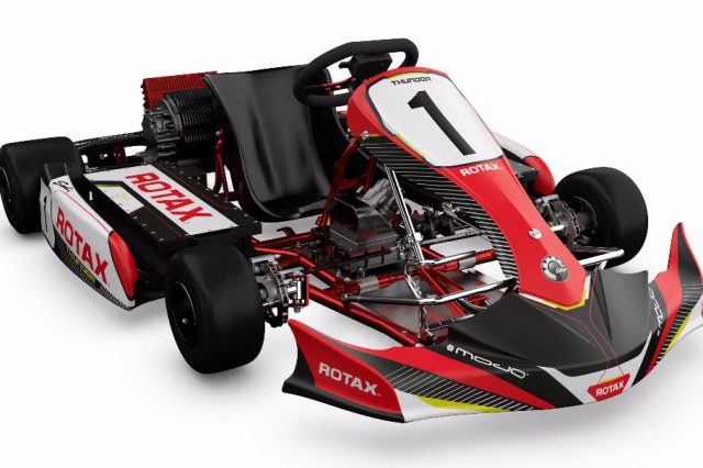 BRP Launches Rotax Electric Powerpack Racing Kart