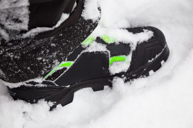 Motorfist Alpha Boot: First Impression on Snow