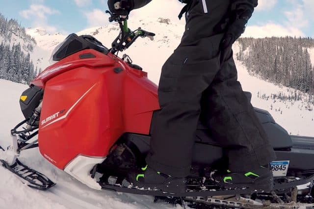 How to Double on a Snowmobile in the Mountains – Riding Tips