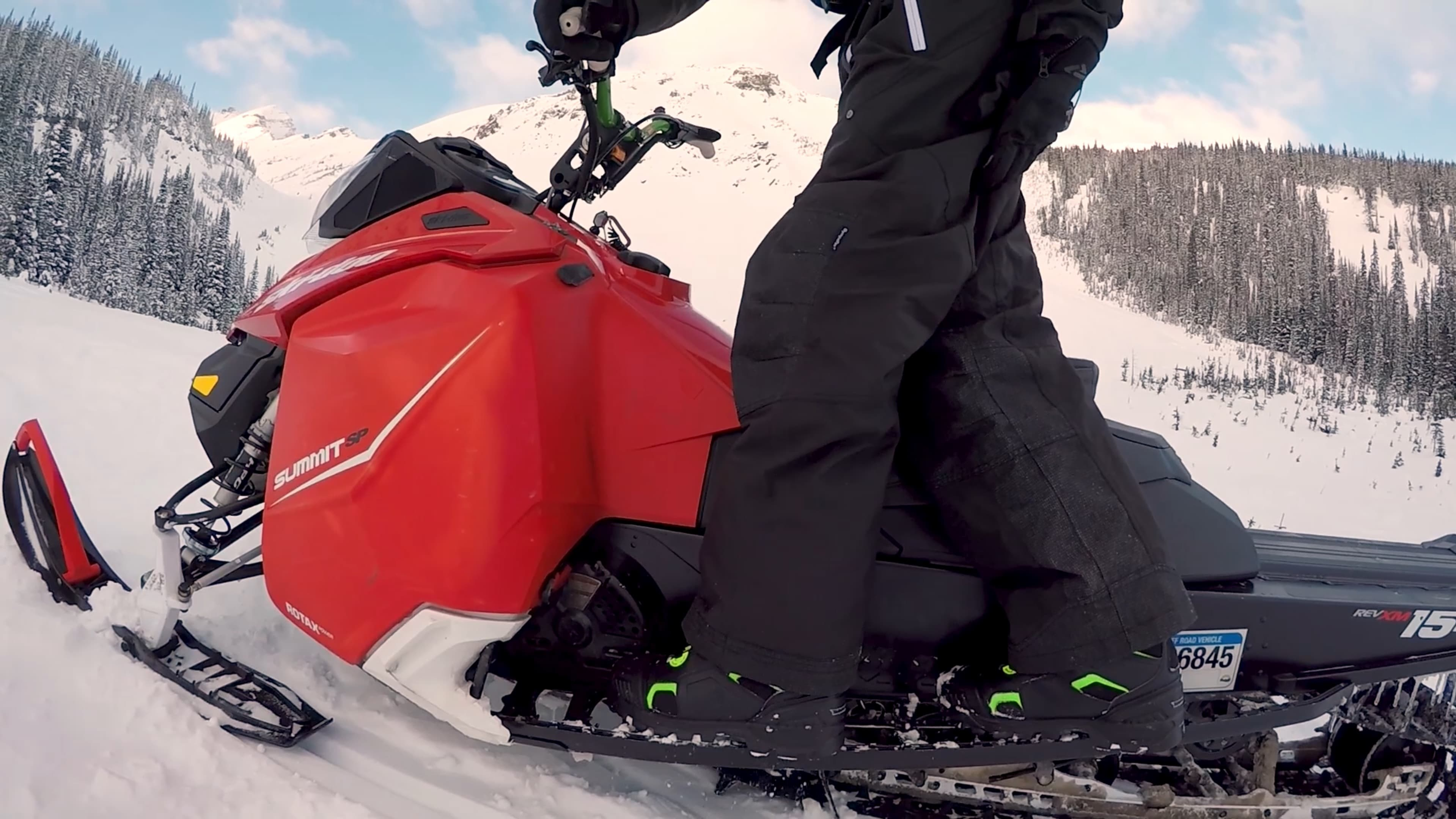 How to Double on a Snowmobile